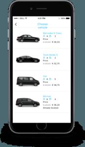 Branded Passenger Taxi App