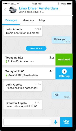 User friendly messaging