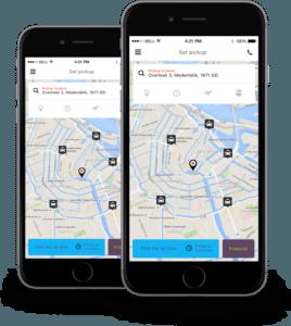 Passenger Taxi App